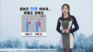 날씨정보 01월 20일 17시 발표