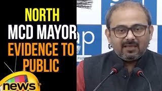 Dilip Pandey Unveils Corruption of North MCD Mayor, Evidence to Public and Media | Mango News - MANGONEWS