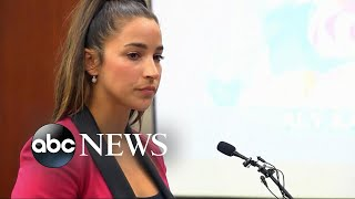 Olympic gold medalist Aly Raisman speaks at Nassar sentencing - ABCNEWS