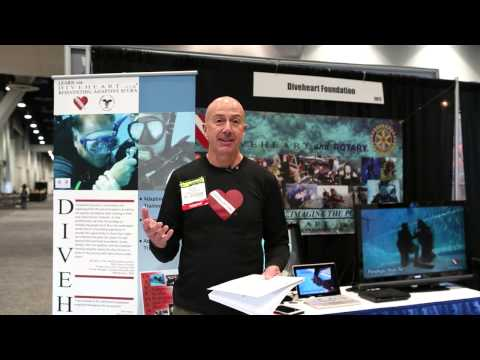 CaliforniaDiver.com meets Diveheart at the 2014 DEMA show