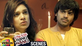 Kiss Kiss Bang Bang 2018 Telugu Movie | Harshada Kulkarni Warned by Kiran | Mango Videos - MANGOVIDEOS