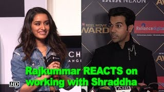 "Rajkummar REACTS on working with Shraddha in ""Stree"" - BOLLYWOODCOUNTRY"