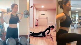 Actress Tamannaah Bhatia GYM Workout Video | Latest GYM Video | TFPC - TFPC