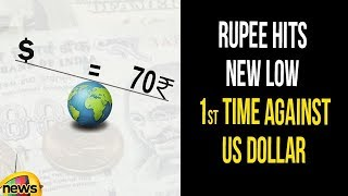 Rupee Hits New low, Breaches 70-mark For First Time Against Us Dollar | Rupee Value Till 1966to2018 - MANGONEWS