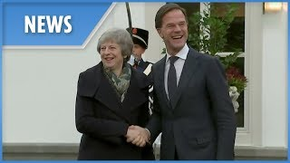Theresa May meets Dutch PM in last-ditch attempt to save Brexit deal - THESUNNEWSPAPER