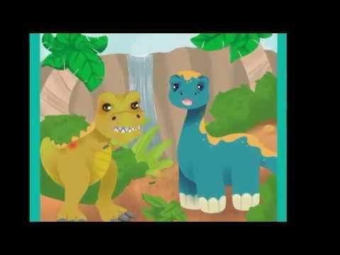 Un dinosaurio de mal humor. Cuentos para niños pequeños.