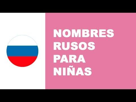 Nombres rusos para niñas
