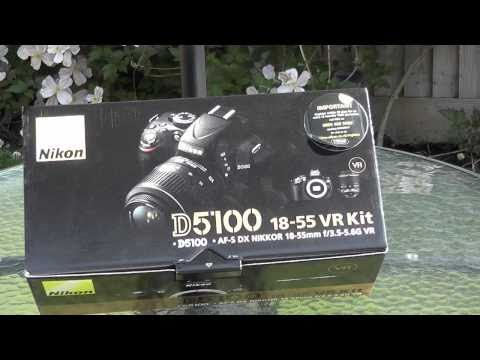 Nikon D5100 Unboxing and First Look