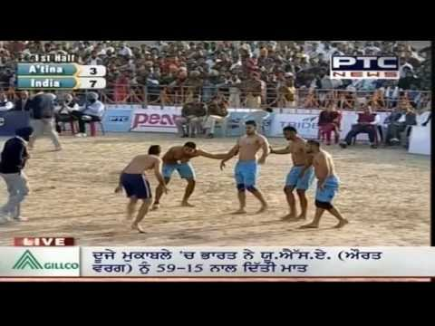 India vs Argentina | Men's | Day 7 | Pearls 4th World Cup Kabaddi Punjab 2013