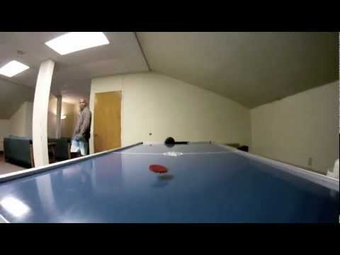 Air Hockey Tricks - Pucking Up