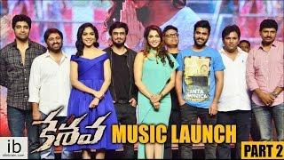 Keshava music launch - Part 2 | Nikhil | Ritu Varma | Isha Koppikar - idlebrain.com - IDLEBRAINLIVE