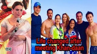 Iulia REVEALS life changed after meeting the Khan-daan - BOLLYWOODCOUNTRY