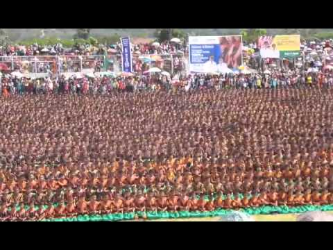 Saman masal 5005 rekor muri dan dunia, 5057 penari