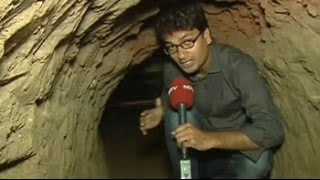 Inside the tunnel engineered for the hi-tech PNB robbery in Haryana - NDTVINDIA