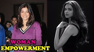 Sushmita Sen on Women Empowerment video | Bollywood News