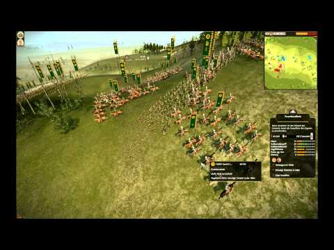 Total War Shogun 2 Multipayer: Balanced Army vs Trollsetup (Tjost22 vs SSG)
