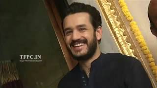 Akkineni Akhil New Movie Opening | TFPC - TFPC