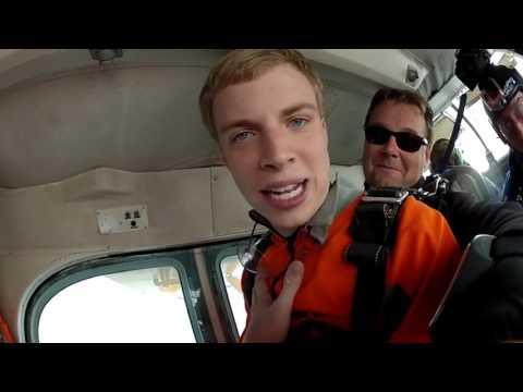 Skydiving tutorial