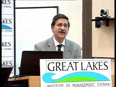 Satish Pradhan - Group Head HR, Tata Sons @ Great Lakes during L'Attitude 13 05'