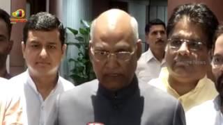 Ram Nath Kovind After Filing His Nomination For Presidential Election 2017 | Mango News - MANGONEWS
