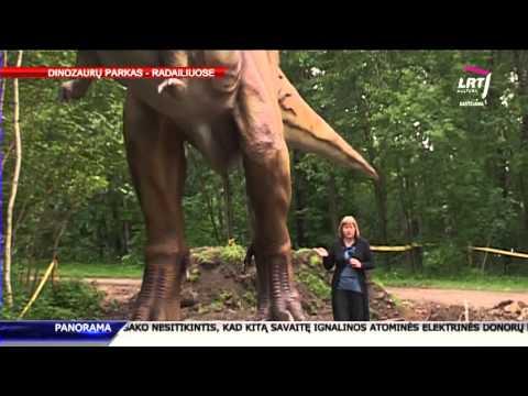 Joninių išvakarėse Klaipėdos pašonėje bus atidarytas dinozaurų parkas