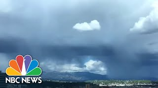 First Snowstorm In Decades Hits Los Angeles | NBC News - NBCNEWS
