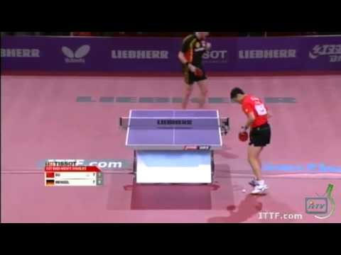 WTTC 2013 Highlights: Xu Xin vs Steffen Mengel (Round 1)