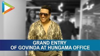 Govinda At Hungama Office New - HUNGAMA