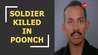 Soldier killed by Pakistani sniper in Jammu and Kashmir's Poonch - ZEENEWS