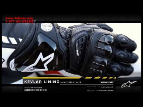 Alpinestars GP Pro Leather Gloves Features Overview - Jafrum.com