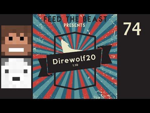 Direwolf20 1.10, Episode 74 -