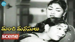 #Mahanati Savitri Manchi Manasulu Scenes - Nagabhushanam Blames ANR || ANR, Savitri - IDREAMMOVIES
