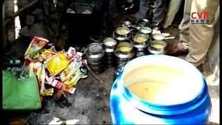 కల్తీ నెయ్యి ముఠా గుట్టు రట్టు : Ghee Adulteration Racket Busted in Kamareddy District | CVR News - CVRNEWSOFFICIAL