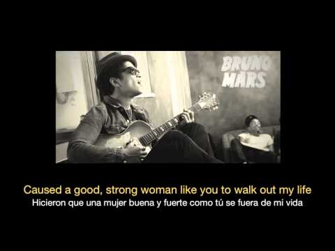 Bruno Mars - When I Was Your Man HD (Sub español - ingles)