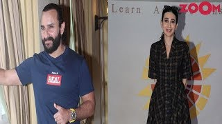 Saif Ali Khan's COOL look | Karisma Kapoor's CHIC avatar | Style Today - ZOOMDEKHO