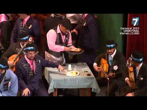 Sesión de Semifinales, la agrupación La trattoria actúa hoy en la modalidad de Coros.