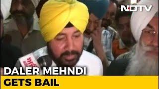Sentenced To Jail In Human Trafficking Case, Daler Mehndi Gets Bail - NDTV