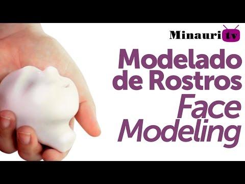 DIY - Modelado de Rostro - Masa Flexible - Porcelana Fría -  ( Cold Porcelain - Face modelling )