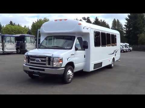 Northwest Bus Sales - NEW 2013 Ford Starcraft MVP 24 Passenger Shuttle Bus For Sale - S93294