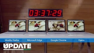 What browser is best for your laptop battery? - CNETTV