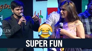 Kirrak Party Team Making Hilarious Fun @ Kirrak Party Pre Release Event | TFPC - TFPC