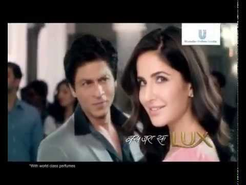 @iamsrk] New LUX AD Featuring Shah Rukh Khan and Katrina Kaif (Full version) Ad ♥  YouTube
