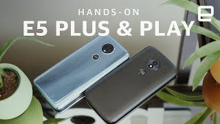 Moto E5 Plus and E5 Play Hands-on - ENGADGET