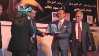 بالفيديو.. وزير الثقافة يكرم أبو زهرة وليلى طاهر فى «آفاق مسرحية»