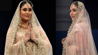 Kareena Kapoor Khan looks ethereal as she turns showstopper for a fashion show in Qatar - TIMESOFINDIACHANNEL