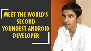 Meet 14-year-old Shubham Panchal, the world's second youngest android developer - ZEENEWS