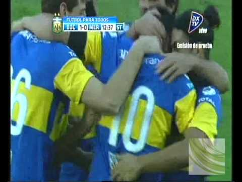 GOLAZO DE  RIQUELME DE TIRO LIBRE  COPA ARGENTINA 2012 BOCA 1 MERLO 1