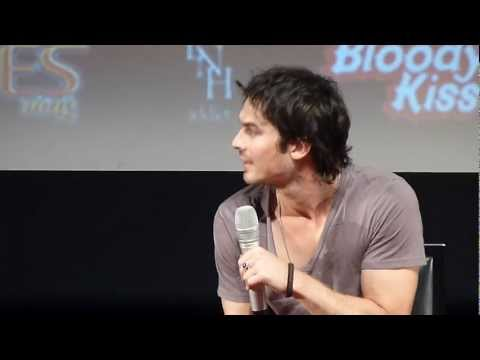 Ian Somerhalder @ Welcome to Mystic Falls 2, Paris, France