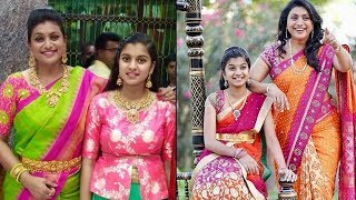 Actress Roja Selvamani Daughter Anshumalika Selvamani Unseen Images With Family - RAJSHRITELUGU