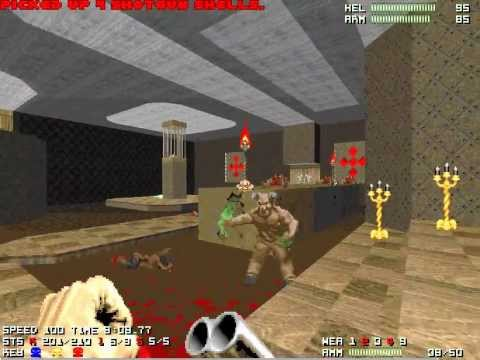 "[Doom 2] Memento Mori 2 Map06 ""Trapped"" UV-Max in 8:49"